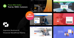 Business Businext - Business and Financial Institution WordPress Theme