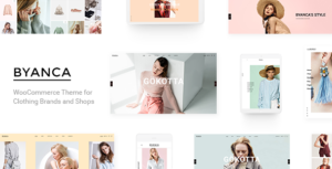 Byanca - Modern WooCommerce Theme for Clothing Brands and Shops