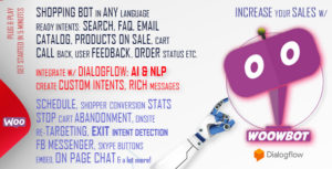 Chat Bot for WooCommerce - Retargeting, Exit Intent, Abandoned Cart, Facebook Live Chat - WoowBot