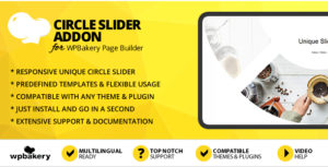 Circle Slider Addon for WPBakery Page Builder (formerly Visual Composer)