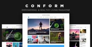 Con Form - Healthy Lifestyle Magazine Theme