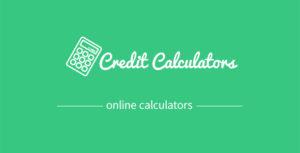Credit calculators