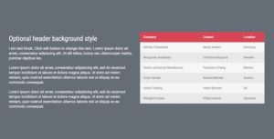 Data Table - Addon for WPBakery Page Builder (formerly Visual Composer)