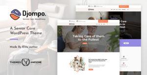 Djompo | Senior Care WordPress Theme