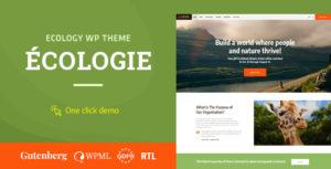 Ecologie - Environmental & Ecology WordPress Theme