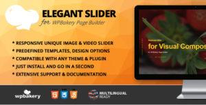 Elegant Slider Addon for WPBakery Page Builder (formerly Visual Composer)