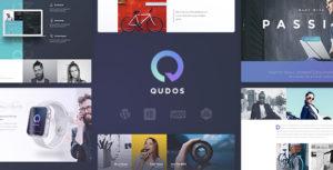 Elementor Multi-Purpose WordPress Theme - Qudos
