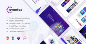 Eventex - Responsive Multiple WordPress Event Theme
