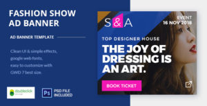 Fashion Show   AD Banner Template HTML5