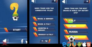 Football World Cup Quiz - HTML5 Game