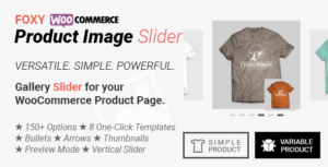 Foxy - WooCommerce Product Image Gallery Slider Carousel
