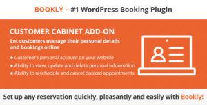 GDPR Solution – Bookly Customer Cabinet (Add-on)
