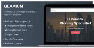 Glamium - Responsive Multipurpose HTML5 Template