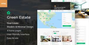 Green Estate - Real Estate HTML Template