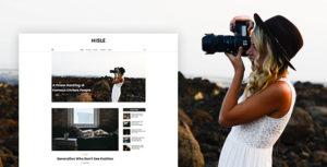 Hisle - Personal Blog Template