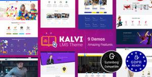 Kalvi Education   LMS Education Theme