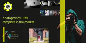 Kliky - Photography Website Template