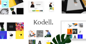 Kodell - Creative Portfolio Theme for Designers and Agencies