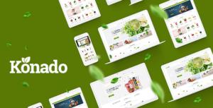 Konado - Organic Theme for WooCommerce WordPress