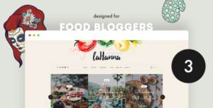 Lahanna - WordPress Food Blog Theme for Food Bloggers
