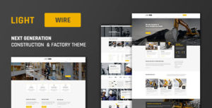 Lightwire - Construction and Industry | The Construction Theme