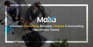 Malia  - A Powerful Business and Finance WordPress Theme