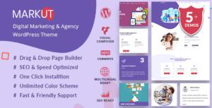 Markut - Digital Marketing & Agency WordPress Theme