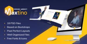 Maxtino - Personal Portfolio PSD Template