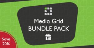 Media Grid - WordPress Bundle Pack