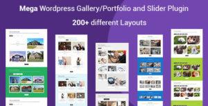Mega Portfolio - Filterable Portfolio Gallery Responsive WordPress Plugin