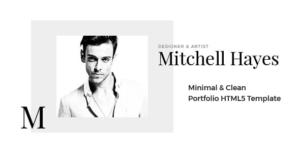 Mitchell Hayes – Portfolio HTML5 Template
