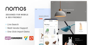 Nomos - Modern AJAX Shop Designed For Mobile And SEO Friendly (RTL Supported)