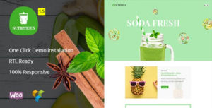 Nutritious - Vitamin Juice Organic food WooCommerce Theme