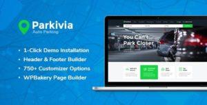 Parkivia   Auto Parking & Car Maintenance WordPress Theme