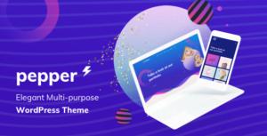 Pepper - Elegent Multi Purpose WordPress Theme
