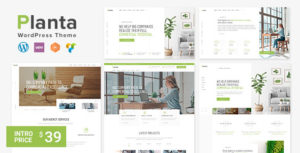 Planta Business | A Contemporary Business WordPress for Business