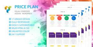 Price Table | Price Plan - Visual Composer Addon- WordPress Plugin