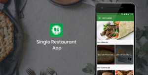 Restaurant App for single restaurant based on WordPress Backend with Push Notification and Analytics
