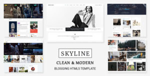 Skyline - HTML5 Template for Bloggers, News and Magazine