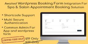 Spa & Salon Wordpress Widget Addon