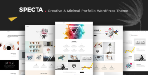 Specta - Multipurpose Portfolio WordPress Theme