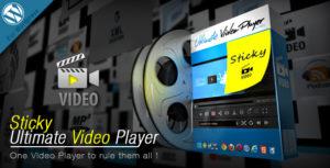 Sticky Ultimate Video Player Wordpress Plugin
