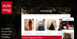Stylemag - Fashion Magazine & Shop WordPress Theme
