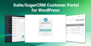 SugarCRM and SuiteCRM Customer Portal for WordPress