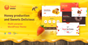 Sweet Mielo - Honey Production and Sweets Delicious WordPress Theme