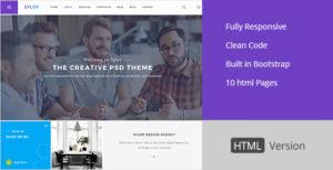 Sylor - Agency/Portfolio HTML Template