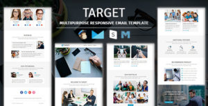 Target - Multipurpose Responsive Email Template With Stampready Builder Access
