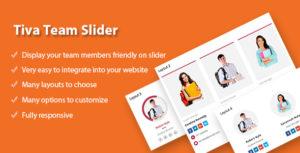 Tiva Team Slider For Wordpress