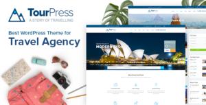 TourPress - WordPress Theme for Travel or Tour Booking