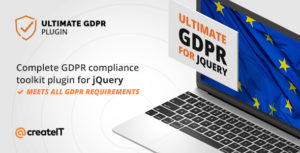 Ultimate GDPR Compliance jQuery Toolkit